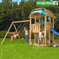 Игровой комплекс Jungle Barn+Climb Module Xtra