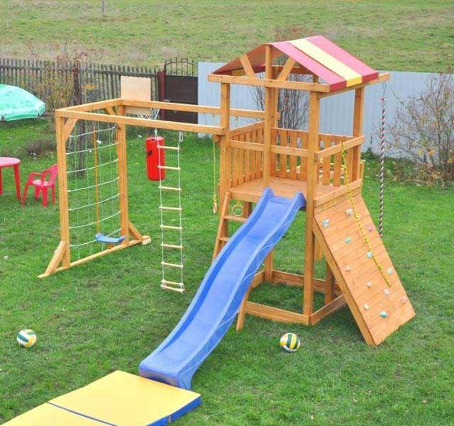 Как сделать для ребенка площадку